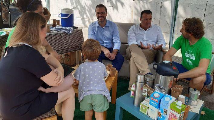 Palma transforma 19 aparcamientos en espacios alternativos por el Park(ing) Day