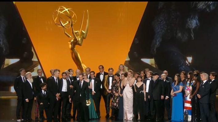 'Juego de tronos' se proclama como la mejor serie del año en los Emmy