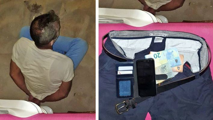 Cazan a un pakistaní tras robar un móvil a un turista reptando por la arena en Playa de Palma