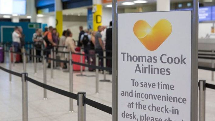 Thomas Cook debe 200 millones al sector turístico español