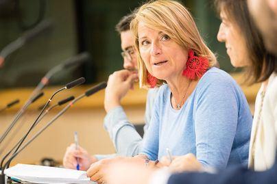 Rosa Estarás pide que la UE tome medidas para evitar la indefensión de los pasajeros ante quiebras