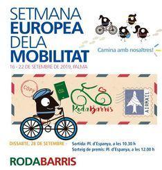 Una bicicleta plegable y un viaje, premios por recorrer los barrios de Palma en bici
