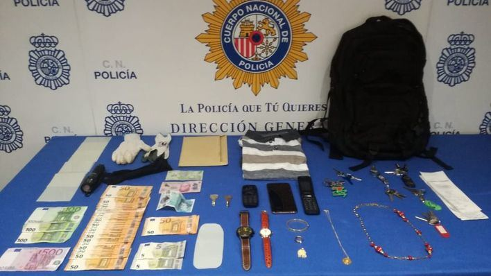 """Detenido un colombiano por tres robos en pisos de Palma usando la técnica del """"resbalón"""""""