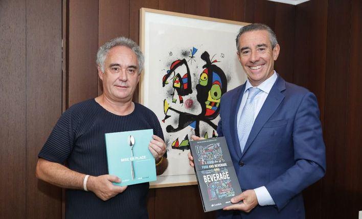 Ferran Adriá colaborará con CaixaBank para ayudar en la innovación de las pymes de restauración