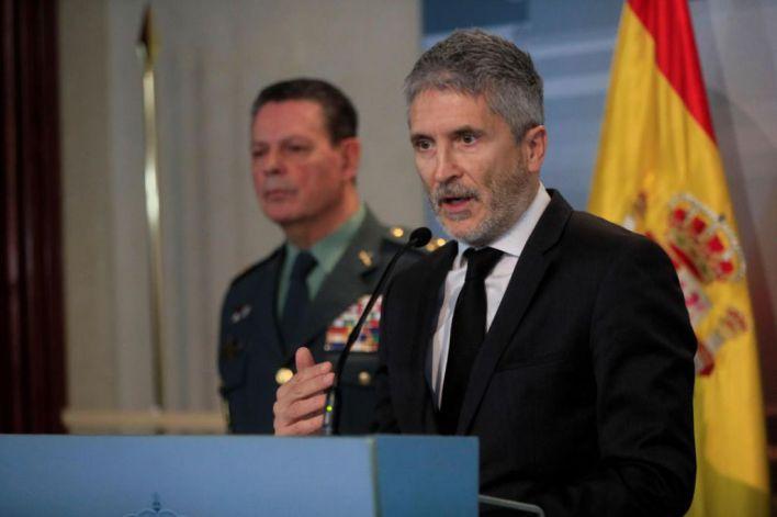 Marlaska dice que la exhumación de Franco se hará