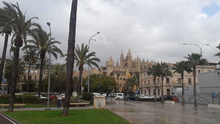 Jueves con posibilidad de precipitaciones débiles en Baleares