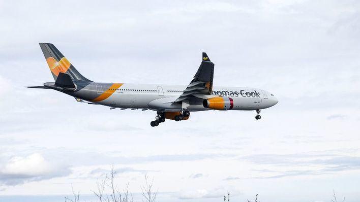 12 vuelos cancelados este jueves por la quiebra de Thomas Cook