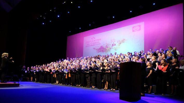 Más de 1.100 personas disfrutan en Palma del XIX Encuentro de Coros de Colegios de Abogados