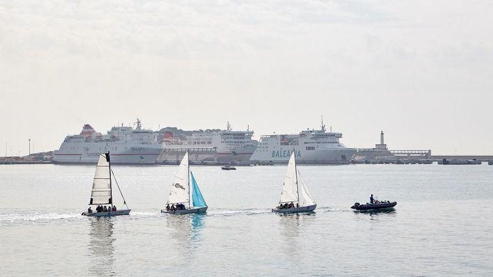 Los puertos de Baleares instalan sensores para medir la contaminación del aire