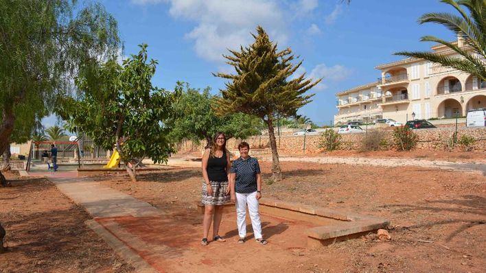 S'Alqueria Blanca ampliará un parque infantil con un barco pirata