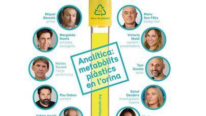 El Gob denuncia la presencia de plástico en la orina de Miquel Barceló, Victòria Maldi y Toni Gomila