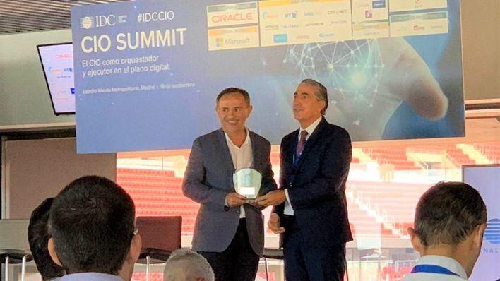 Grupo Piñero, galardonado en los Premios IDC CIO 2019 por su transformación digital