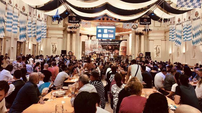 La gran fiesta Oktoberfest vive su última semana en Palma