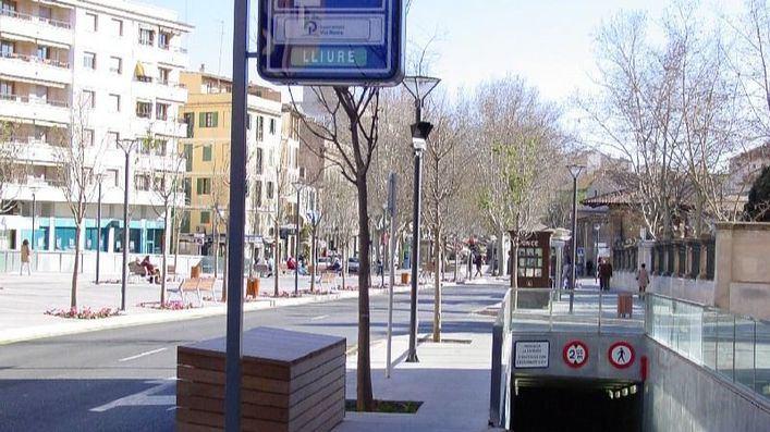 Los clientes del pequeño comercio tendrán dos horas de aparcamiento gratis en Palma