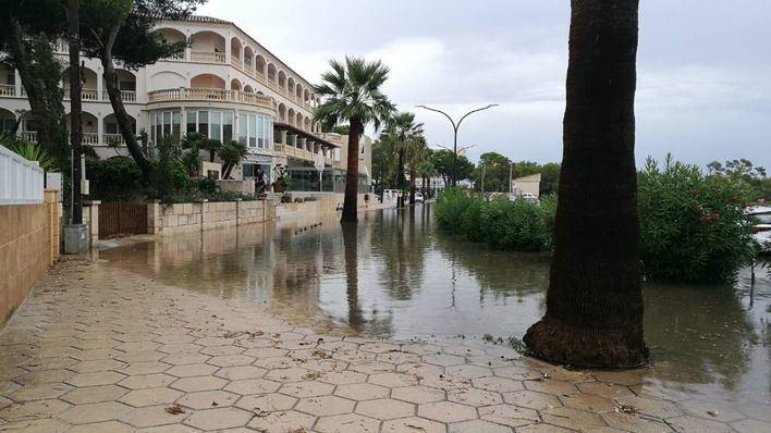Mallorca en alerta por lluvia y tormentas