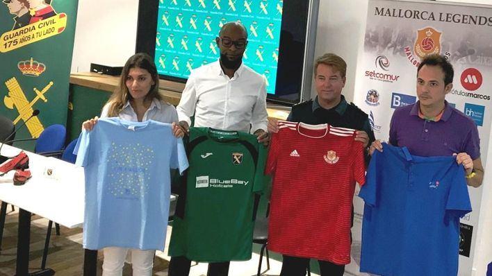 La Guardia Civil organiza un torneo de fútbol benéfico en Peguera