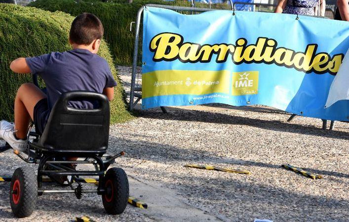 Una nueva edición de BarriDiades acerca el deporte a los más pequeños en Palma