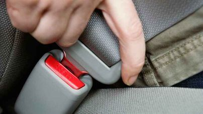 Más de 400 multas por no llevar el cinturón de seguridad ni los sistemas de retención infantil