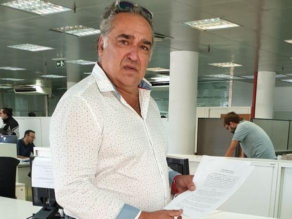 La Plataforma Sí a las Terrazas de Palma registra en el Ayuntamiento la solicitud sobre el referéndum