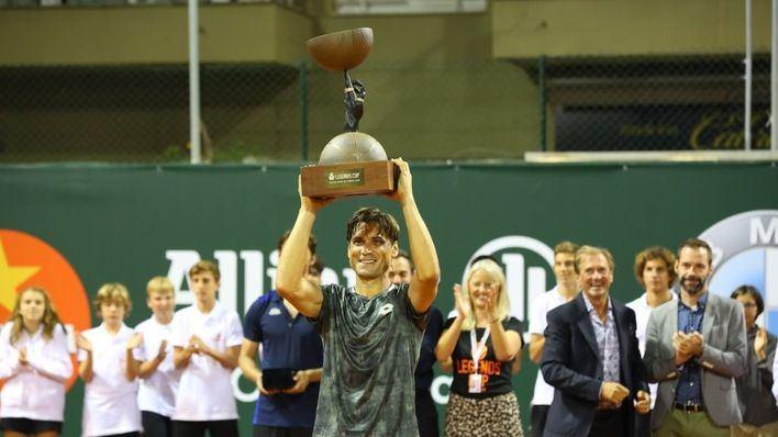 Ferrer gana el Mallorca Senior ATP Champions Tour al vencer a Ferrero