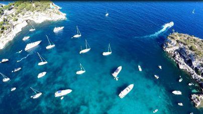 Nueve de cada diez embarcaciones de Baleares fondean correctamente