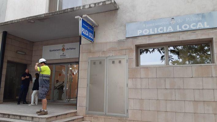 La comisaría de Son Gotleu reabrirá casi un año después del incendio que la calcinó