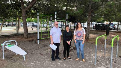 Santanyí estrena un parque para practicar calistenia