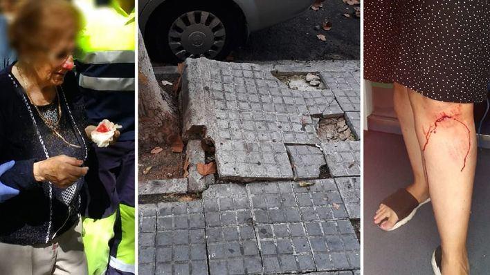Cort destina 348.000 euros para evitar más accidentes en las aceras del Coll d'en Rabassa
