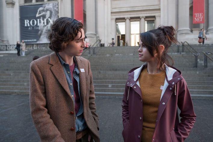 Este viernes llega a los cine 'Día de lluvia en Nueva York', lo nuevo de Woody Allen