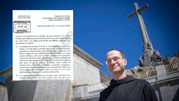 El prior del Valle de los Caídos se niega a autorizar la exhumación de Franco