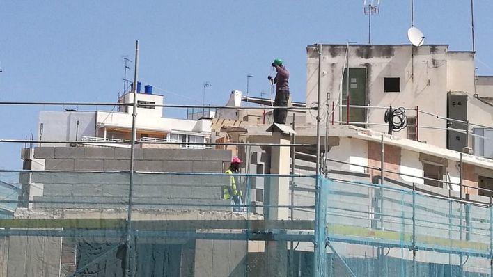La 'buena marcha' de la construcción se frena en Baleares