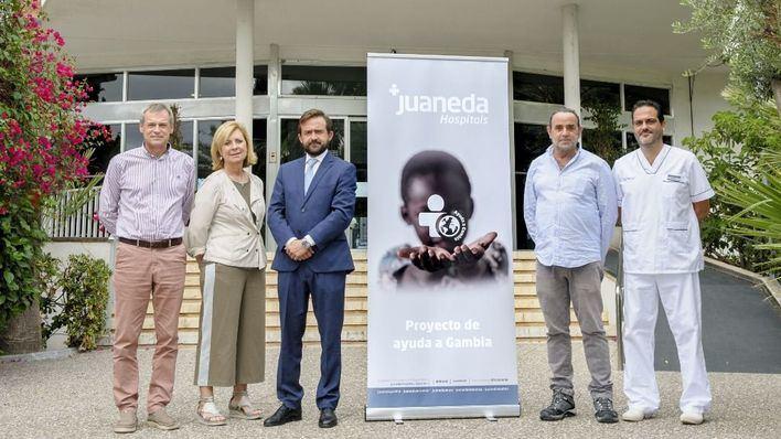 Juaneda Hospitals lidera un proyecto de ayuda sanitaria en Gambia