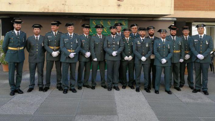 La Guardia Civil recuerda en Palma a sus compañeros 'acosados' de Cataluña