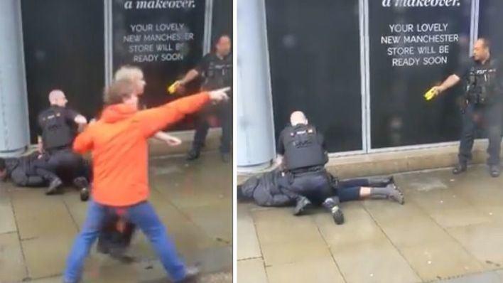Cinco apuñalados en un centro comercial en Manchester