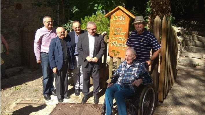 Homenaje al hermano Macià en la Fira de la Serra de Tramuntana