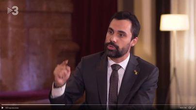 Torrent anuncia que el Parlament celebrará un pleno específico como reacción a la sentencia