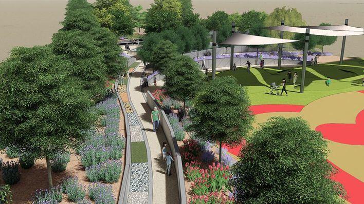 El nuevo parque de Sa Riera simulará el bosque de Bellver e incluirá