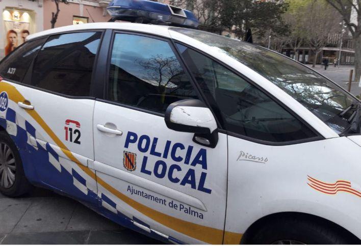 Dos menores detenidos por robar una motocicleta en Palma