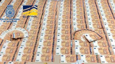 Cae una organización que distribuía billetes falsos de 50 euros por toda España