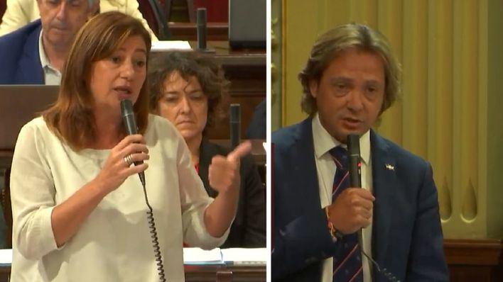 Vox acusa a Sánchez y a Armengol de fomentar una ruta de inmigración ilegal en Baleares