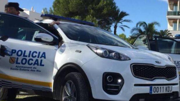 Detenido tras agredir a su pareja en plena calle en Ibiza