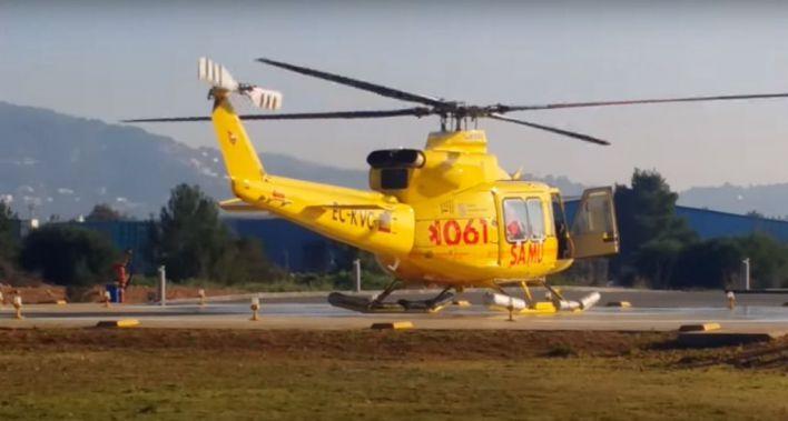 Satse exige que se cumpla la normativa de seguridad áerea en los vuelos realizados por el 061