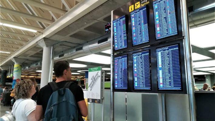 El Aeropuerto de Palma recibe un 3,1 por ciento más de pasajeros y roza los 25 millones