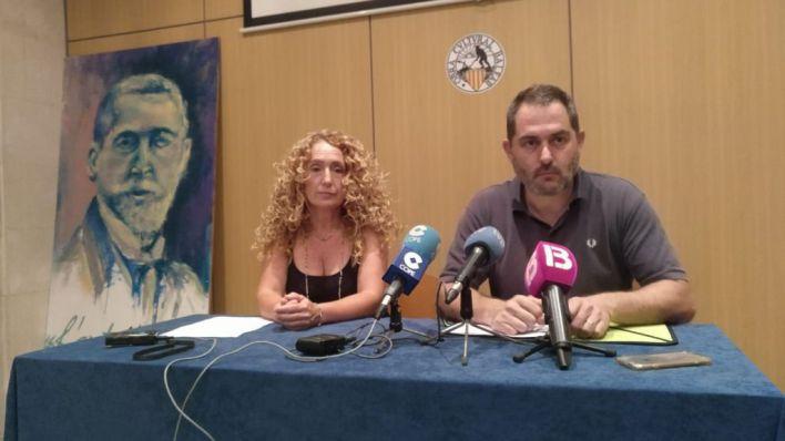 Més acusa a PSIB y Podem de bloquear las imágenes de Paula Rotger en Son Sant Joan