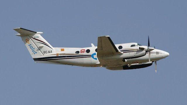 Los traslados sanitarios nocturnos entre islas se realizarán en avión y no en helicóptero