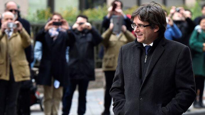 Puigdemont comparece ante la Justicia belga y se opone a ser entregado a España