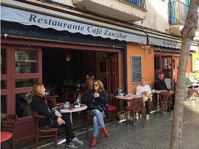El restaurante Zanzíbar, primera víctima del cierre de terrazas ordenado por Cort