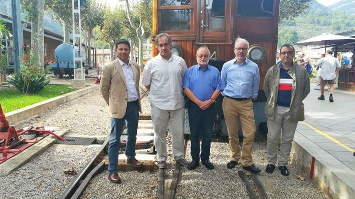 El Tren de Sóller solicita adherirse a la European Federation of Museum & Tourist Railways