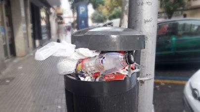 Una aplastante mayoría de encuestados considera que faltan papeleras en Palma
