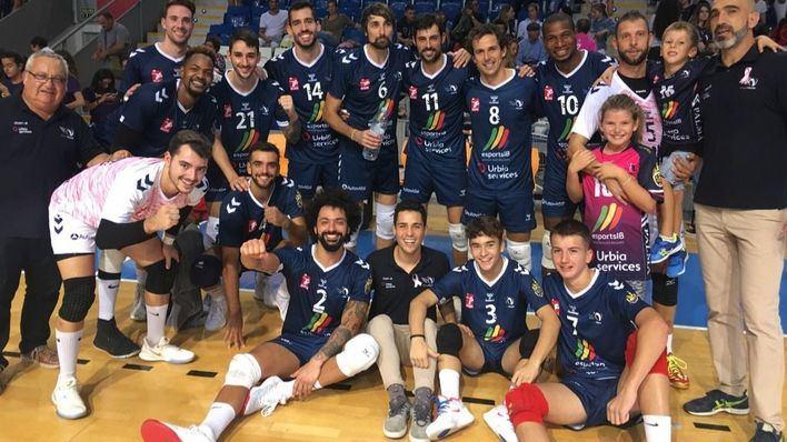 Segundo partido y segunda victoria del Urbia Palma